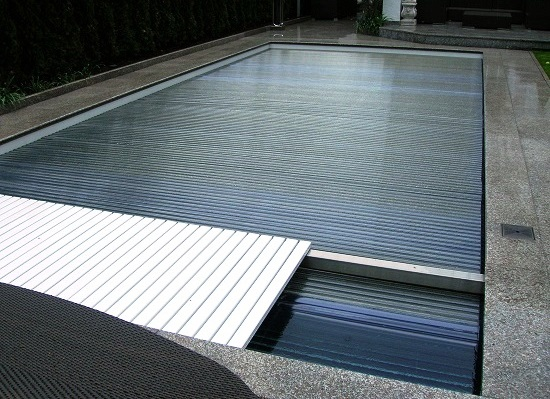 Rollo Solar - Unterflur Holzrost